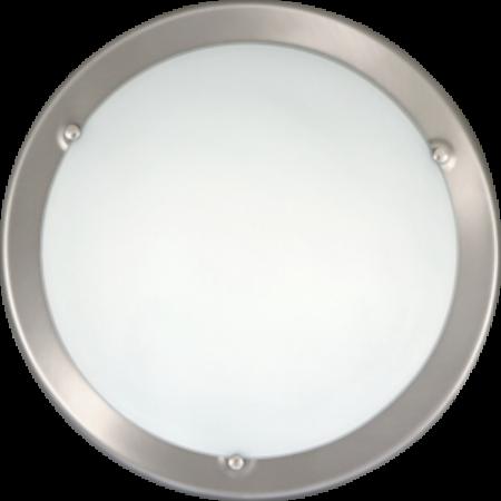 Rábalux Ufo mennyezeti lámpa - szatin króm - 38 cm