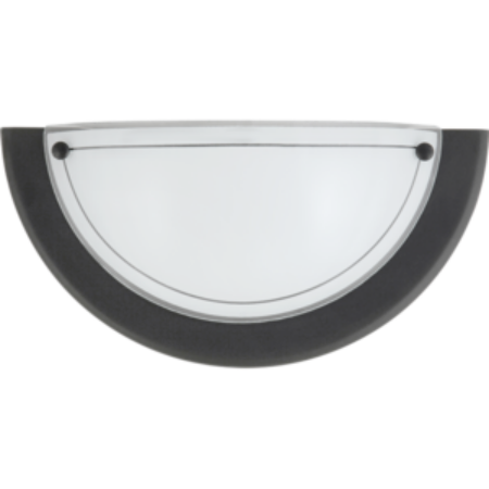 Rábalux Ufo fali lámpa - fekete - 31 cm