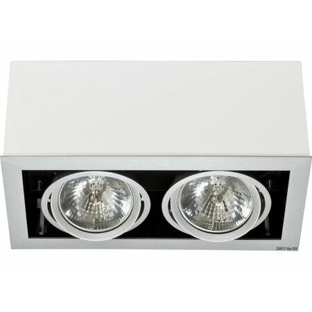 Nowodvorski Box White - Gray mennyezeti lámpa