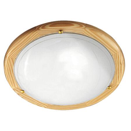 Rábalux Ufo mennyezeti lámpa - natúr - 38 cm