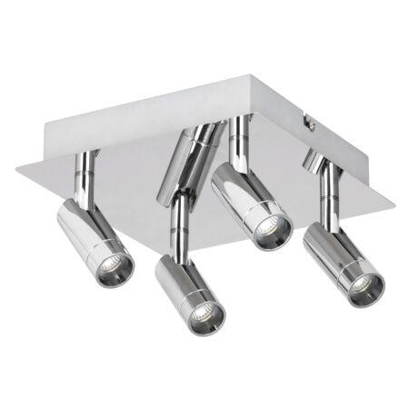 Rábalux George LED fürdőszobai mennyezeti lámpa - 4 izzós