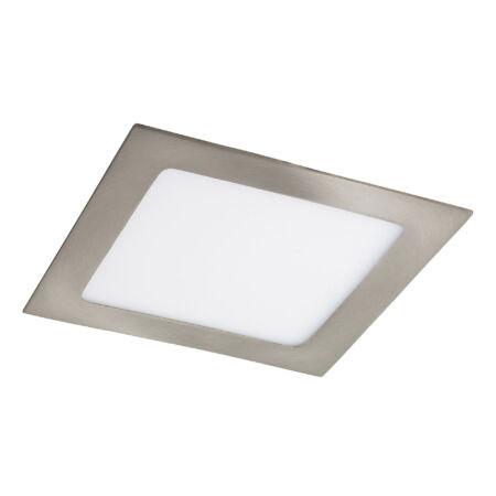 Rábalux Lois LED beépíthető mennyezeti lámpa - szögletes - szatin króm - 12W