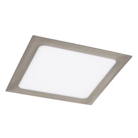 Rábalux Lois LED beépíthető mennyezeti lámpa - szögletes - szatin króm - 18W