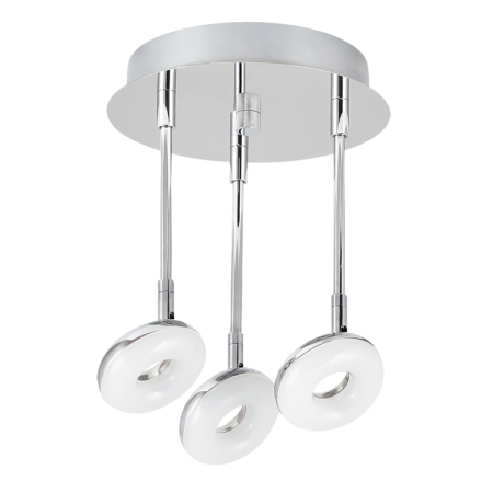 Rábalux Beata LED 3 izzós fürdőszobai mennyezeti lámpa