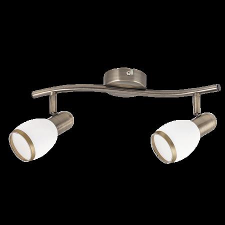 Rábalux Elite 2 izzós mennyezeti lámpa - bronz