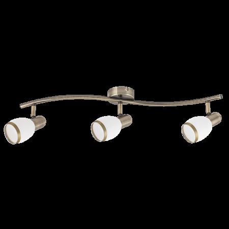 Rábalux Elite 3 izzós mennyezeti lámpa - bronz
