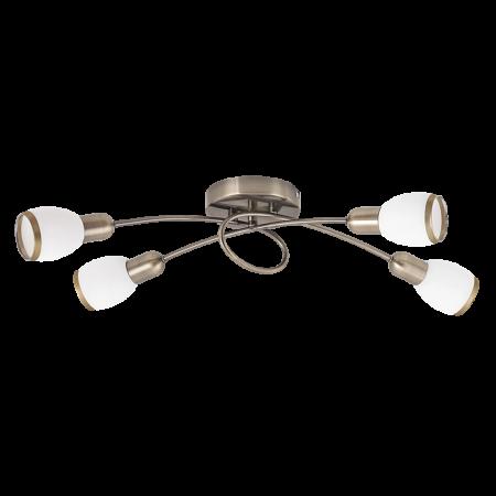 Rábalux Elite 4 izzós mennyezeti lámpa - bronz