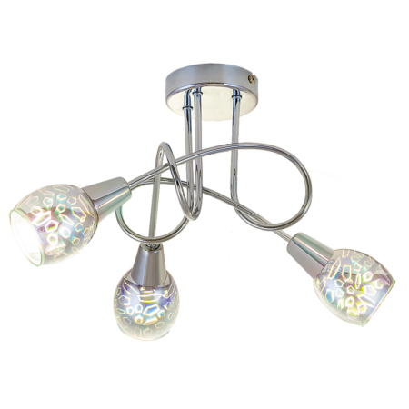 Rábalux Porto 3 izzós mennyezeti lámpa