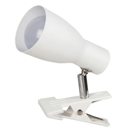 Rábalux Ebony csíptetős fali lámpa - fehér