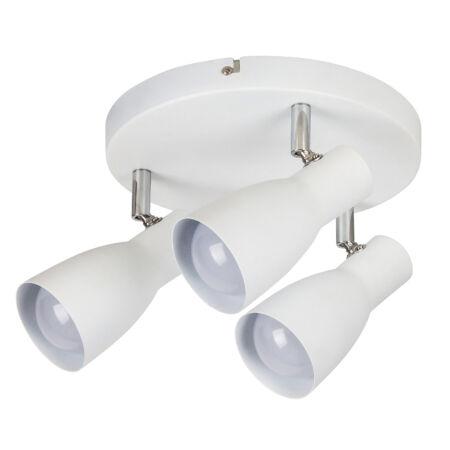Rábalux Ebony 3 izzós mennyezeti lámpa - fehér