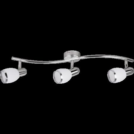 Rábalux Elite 3 izzós fali lámpa - króm