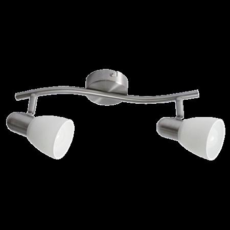 Rábalux Soma 2 izzós fali lámpa - króm