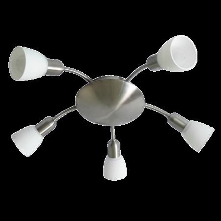 Rábalux Soma 5 izzós mennyezeti lámpa - króm