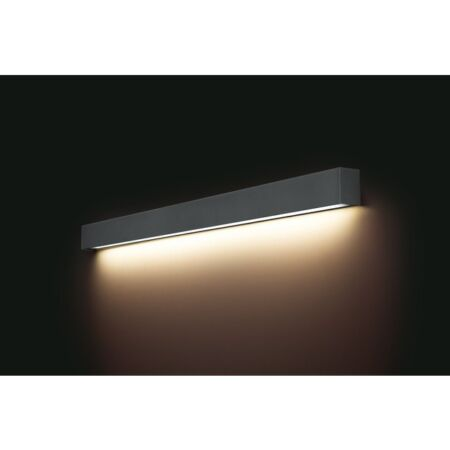 Nowodvorski Straight Wall LED Graphite L fali lámpa