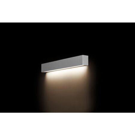 Nowodvorski Straight Wall LED Silver S fali lámpa