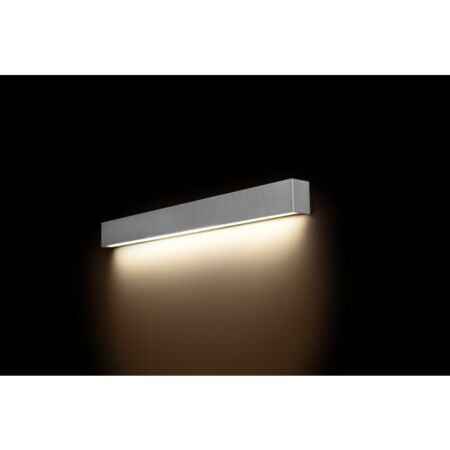 Nowodvorski Straight Wall LED Silver M fali lámpa