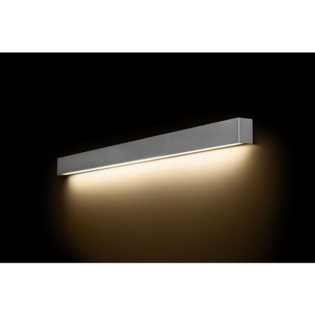 Nowodvorski Straight Wall LED Silver L fali lámpa