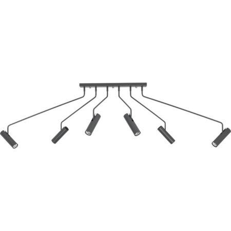 Nowodvorski Eye Super Graphite 6 izzós mennyezeti lámpa