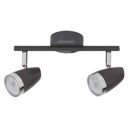 Rábalux Karen LED 2 izzós mennyezeti lámpa - antracit szürke
