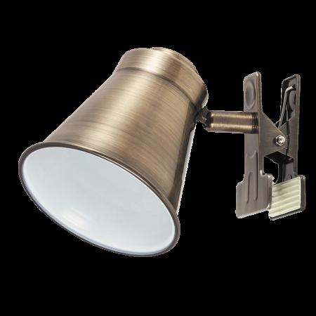 Rábalux Martina csíptetős asztali lámpa - bronz
