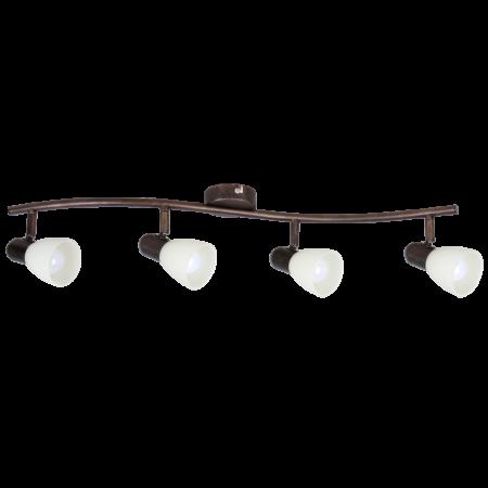 Rábalux Soma 4 izzós mennyezeti lámpa - antik barna