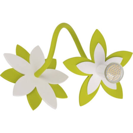 Nowodvorski Flowers Green gyermek fali lámpa