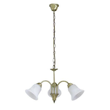 Rábalux Francesca 3 ágú csillár - bronz