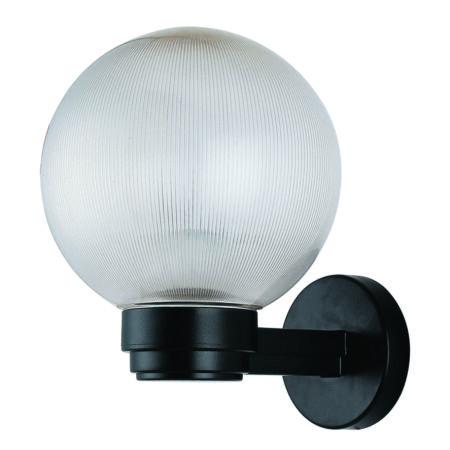 Rábalux Palermo kültéri fali lámpa - fekete