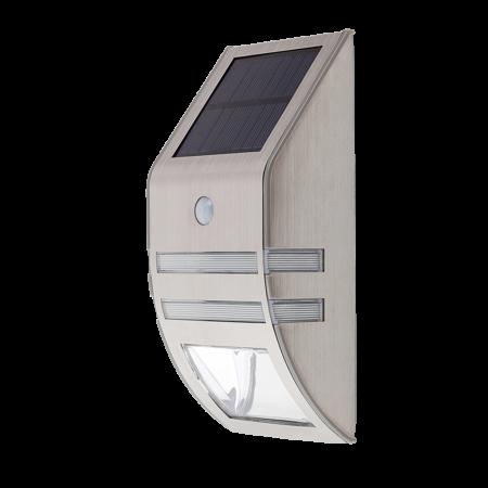 Rábalux Rijeka kültéri LED solar fali lámpa - mozgásérzékelős