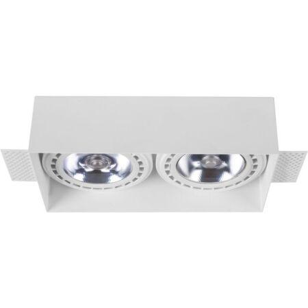 Nowodvorski Mod Plus 2 izzós beépíthető lámpa - fehér