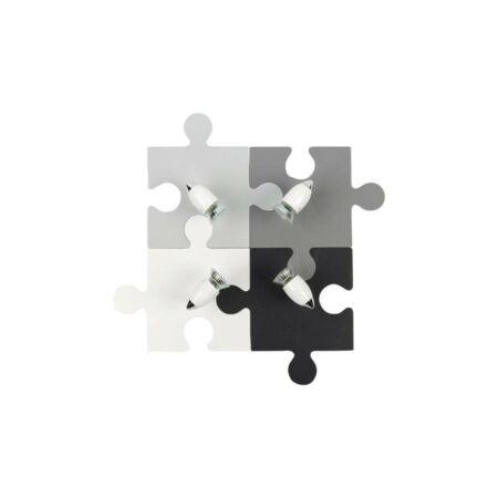 Nowodvorski Puzzle Gyermek mennyezeti lámpa - szürke