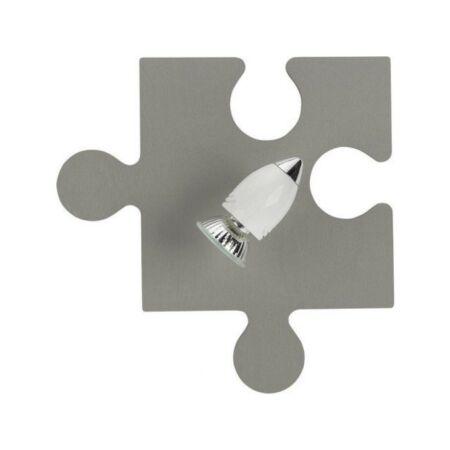 Nowodvorski Puzzle gyermek fali lámpa - szürke