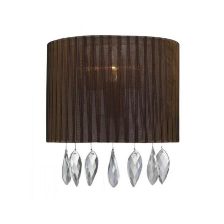 Azzardo Sidney fali lámpa - barna