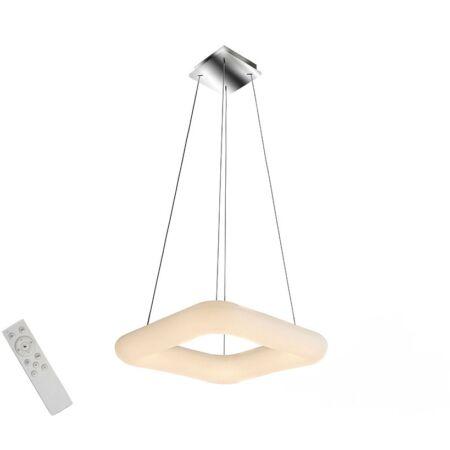 Azzardo Donut Square LED távirányítós függeszték - 60 cm