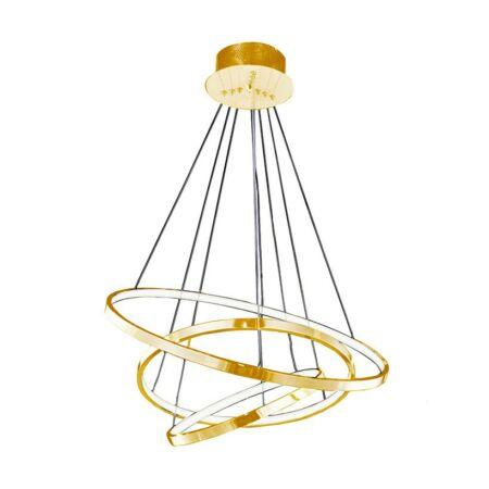 Azzardo Wheel LED függeszték - arany