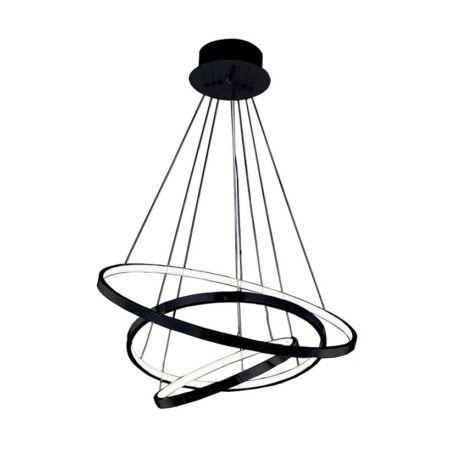 Azzardo Wheel LED függeszték - fekete