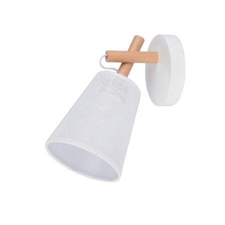TK Lighting Vaio white fali lámpa