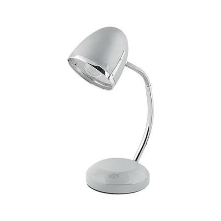 Nowodvorski Pocatello íróasztali lámpa - ezüst