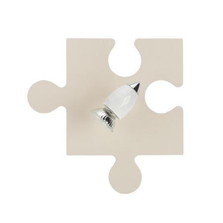 Nowodvorski Puzzle gyermek fali lámpa - ekrü