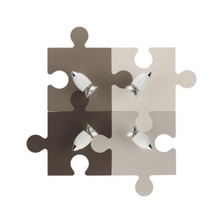 Nowodvorski Puzzle gyermek mennyezeti lámpa - barna