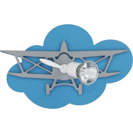 Nowodvorski Plane gyermek fali lámpa - kék-fehér