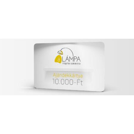 A Lámpa ajándékkártya - 10.000 Ft értékben